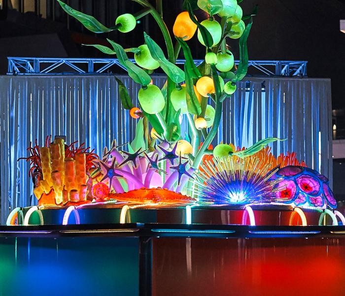 Tumbalong Lights Playground, VIVID Sydney